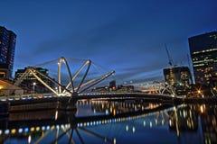 Żeglarzi Przerzucają most, Melbourne Fotografia Royalty Free