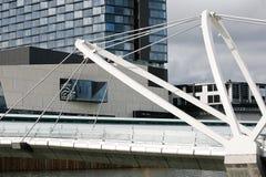 Żeglarzi Przerzucają most nad Yarra rzeką Zdjęcie Royalty Free