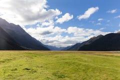 Eglinton dolina, Nowa Zelandia obraz royalty free