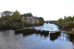 Eglinton-Kanal-Ansicht in Galway, Irland Lizenzfreie Stockbilder