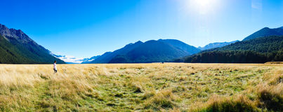 Eglinton Valley Royalty Free Stock Images