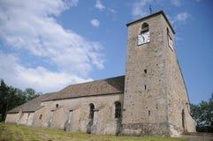Eglise圣徒安德烈De Mirebel 库存照片