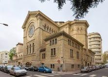 Eglise圣徒Nom德赫苏斯在利昂,法国 免版税库存照片