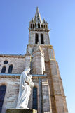 Eglise圣皮埃尔和圣保罗, Pléneuf 免版税库存图片