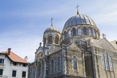 Eglise ορθόδοξο Μπιαρίτζ στοκ εικόνα