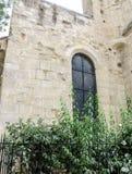 Eglise Свят-Julien-le-Pauvre-одн самых старых церков в Париже Стоковое Изображение RF