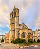 Eglise de la马德琳de贝济耶 免版税库存照片