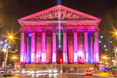 Eglise DE La Madeleine, Parijs, Frankrijk royalty-vrije stock foto's