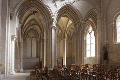 Eglise de la Sainte Trinite, Abbaye-Zusatz-Freifrauen, Caen Lizenzfreie Stockbilder