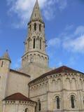 Eglise DE Saint-Jean-d Etampes, La Brede (Frankrijk) royalty-vrije stock afbeeldingen
