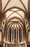 Eglise heilige-Jean-Baptiste, Espalion (Frankrijk) royalty-vrije stock afbeeldingen