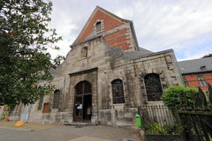 Eglise helgon Matthieu, Flone Royaltyfri Fotografi