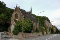 Eglise nästan Engis, Belgien Royaltyfri Fotografi