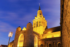 Eglise Notre-Dame Cathedral in Calais Stock Photo