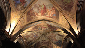 Eglise notre dame DE assomption, Nice, Frankrijk Royalty-vrije Stock Foto's