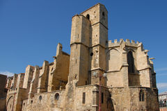 Eglise Notre Dame de Lamourguier, Narbonne Royalty Free Stock Photo