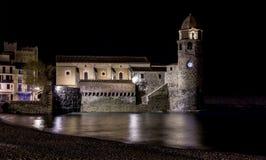 Eglise Notre Dame des Anges, Collioure, Frankrijk Royalty-vrije Stock Foto's