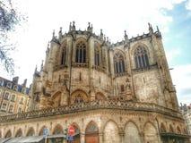 Eglise Paroisse Catholique, vieille ville de Lyon, France Photo libre de droits