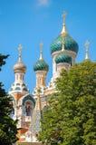 Eglise Russe - Niza Fotos de archivo