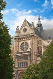 Eglise Saint-Eustache church Royalty Free Stock Photo