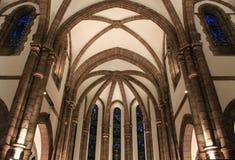 Eglise Saint-Jean-Baptiste, Espalion (Frances) Photographie stock