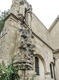 Eglise Saint-Julien-le-Pauvre-one of the oldest churches in Paris. Near Notre Dame Stock Photo