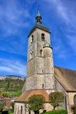 Eglise Saint Laurent dans Ornans image libre de droits
