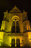 Eglise Saint Malo church in Dinan, France Stock Photo