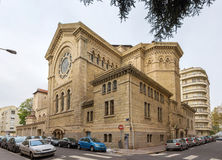 Eglise Saint Nom de Jesus em Lyon, França Fotos de Stock Royalty Free