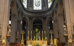 Eglise Saint Sulpice, Paris, France Stock Image