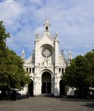 Eglise Sainte Catherine Bruxelles stockbild
