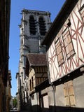 Eglise Sainte-Madeleine, Troyes ( France ) Royalty Free Stock Photo