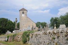 Eglise San-Andre De Mirebel Fotografie Stock Libere da Diritti