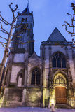 Eglise St Germain, Amiens, France Photographie stock