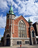 Eglise Unie Saint-Jean (Saint John United Church) Imagem de Stock Royalty Free