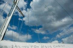 Żeglować dla jezus chrystus Obraz Stock