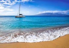 Żeglować w Hawaje obrazy stock