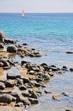 żeglowania morze Zdjęcia Stock