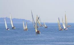 Żeglowania regatta Cor Caroli początek Zdjęcie Stock