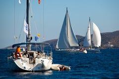 Żeglowania regatta Viva Grecja 2012 Zdjęcie Royalty Free