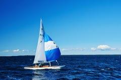 Żeglowania regatta w Rosja obraz royalty free