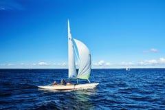 Żeglowania regatta w Rosja Zdjęcie Royalty Free