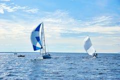 Żeglowania regatta w Rosja Zdjęcia Stock