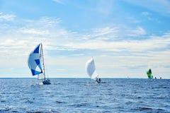 Żeglowania regatta w Rosja Fotografia Royalty Free