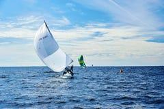 Żeglowania regatta w Rosja Obrazy Royalty Free
