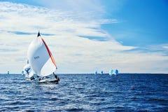 Żeglowania regatta w Rosja Fotografia Stock