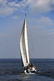 Żeglowanie łódź Obraz Stock