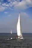 Żeglowanie łódź Obrazy Royalty Free