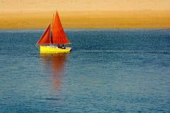 Żeglowanie łódź zdjęcie stock