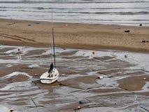Żeglowanie łódź, Nowy Quay Fotografia Stock